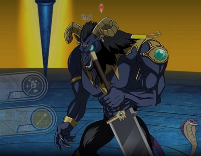 クエスト9の強敵「青眼の悪魔」攻略方法まとめ!一定の法則で攻撃すれば勝率UP!
