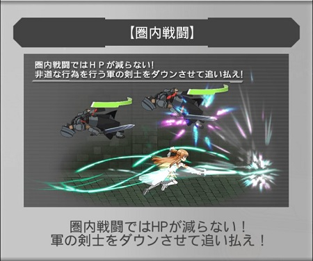 クエスト11-8「圏内戦闘」でSランクを獲得する方法は全体or落下攻撃で楽勝!