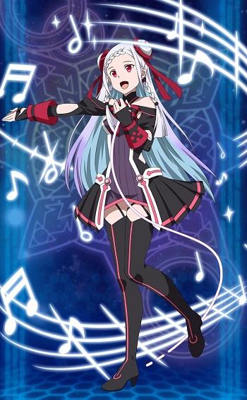 期間限定特別ログインボーナスでGET!!☆4キャラクター【ARの歌姫】ユナのステータス詳細まとめ!