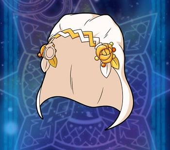 武具生成イベントでGET!聖属性の☆2~☆4アクセサリー「花嫁のヴェール」の武具情報
