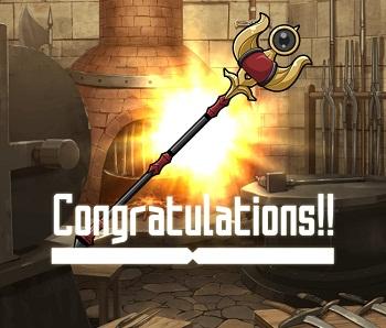 武具交換イベントで入手できる☆2~☆4杖「ミーノースタッフ」(闇属性)の武器情報!