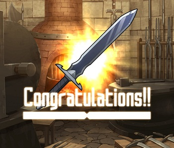 防衛戦イベントでGET!☆2~☆4片手剣「アニールブレード」(無属性)の武器ステータス情報