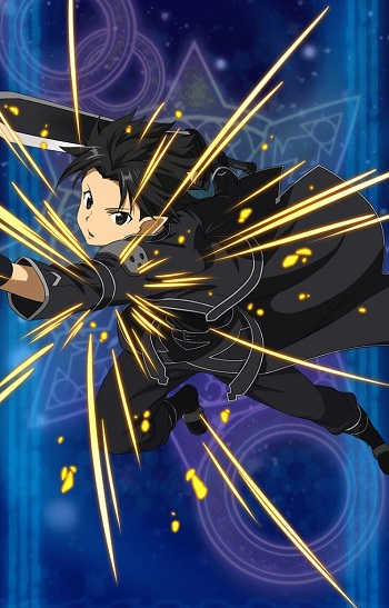 イベント限定☆4キャラクター【フェアリィ・ダンス】キリト(闇・片手剣)のステータス詳細!スキルスロット追加でSS3が強化!!