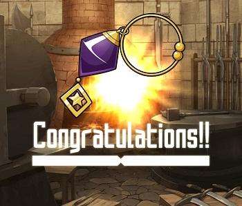 イベント報酬でGET!闇属性の☆2~☆4アクセサリー「紫水晶の耳飾り」の武具情報!