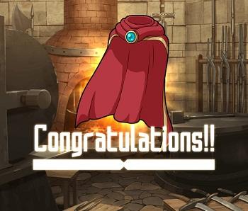 防衛戦イベントでGET!火属性の☆2~☆4防具「熱風のマント」の武具ステータス情報