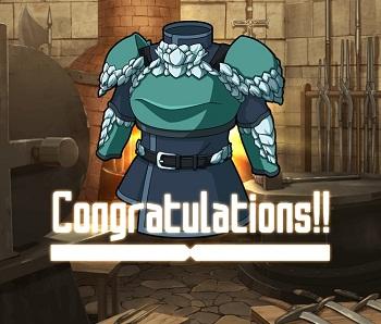 防衛戦イベントでGET!風属性の☆2~☆4防具「スケイル・メイル」の武具ステータス情報