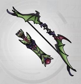 ☆4~☆5弓「デモンズ・ウィング」ステータス詳細
