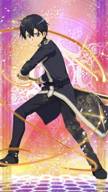 6キャラ【選んだ道の先へ】キリト(土・片手剣)のLV最大ステータス詳細!