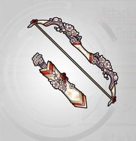☆4~☆5弓「美姫の神光弓」ステータス詳細