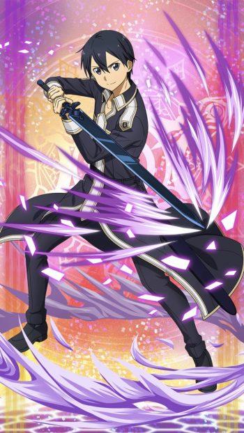 ☆6キャラ【刃に込めた想い】キリト(闇・片手剣)のLV最大ステータス詳細!