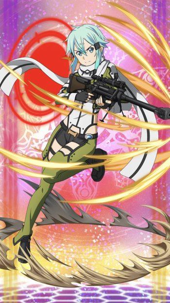 ☆6キャラ【自分を変える強さ】シノン(無・狙撃銃)のLV最大ステータス詳細!