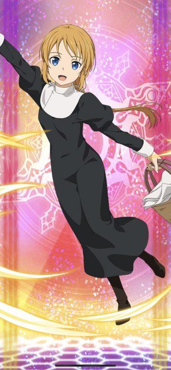 ☆6キャラ【見習い修道女】セルカ(聖・杖)のLV最大ステータス詳細!